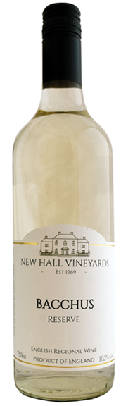 New Hall Vineyards, Essex, Bacchus Reserve 2018
