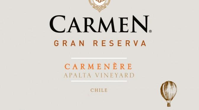 WOTW: Carmen, Carmenére Gran Reserva, Apalta 2013
