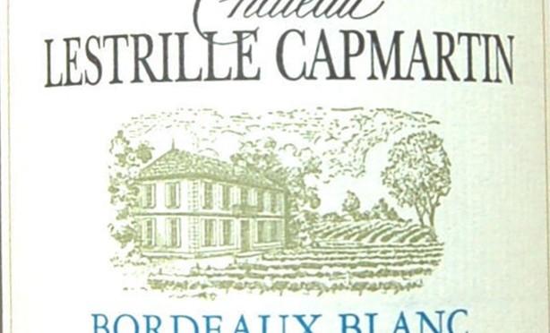 WOTW: Château Lestrille Capmartin Bordeaux Blanc, 2013