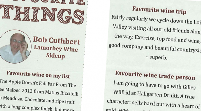 A Brace of (Brilliantly Written) Reviews for Hallgarten Wines in the New Wine Merchant Mag
