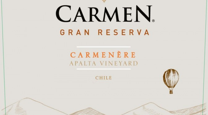 Oz Clarke a Big Fan of Carmen's Gran Reserva Carmenere 2013
