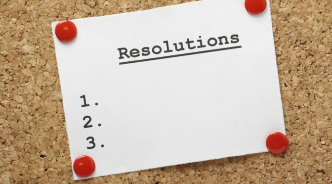 The Hallgarten Team plan their 2017 New Year's Resolutions