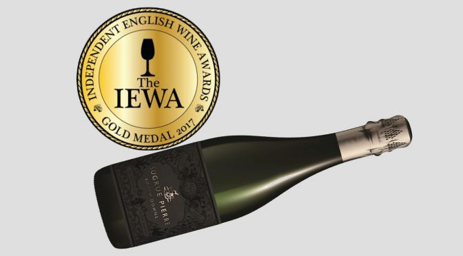 SUGRUE PIERRE BRUT, TROUBLE WITH DREAMS, 2013 ONLY SPARKLING TO TAKE HOME GOLD AT INAUGURAL IEWA