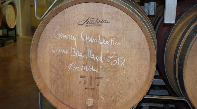 THE first Gevrey-Chambertin winemaker to not use sulphur…